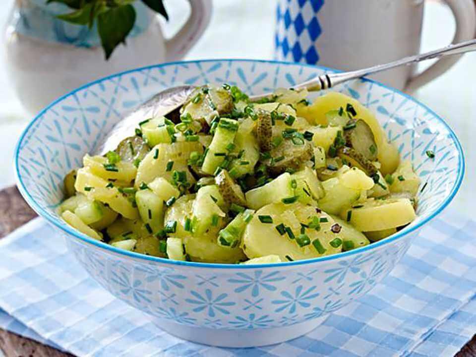 Alman Patates Salatası Tarifi %%page%% %%sep%% %%sitename%% Bavyera Mutfağı