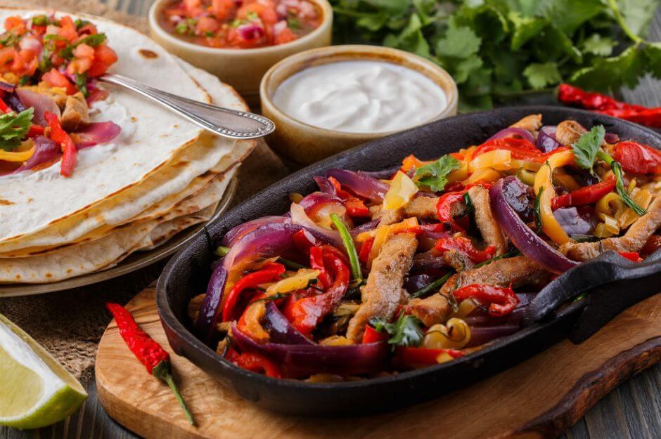 Asya Mutfağı Etli Fajita